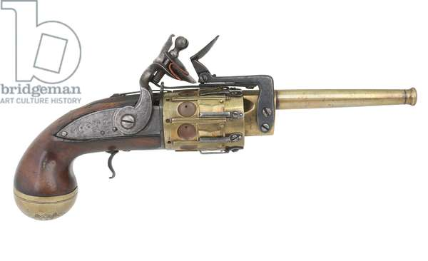 Snaphaunce revolver, 1700 (photo)