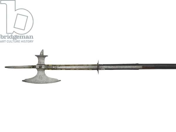 Pollaxe, c.1500 (iron)