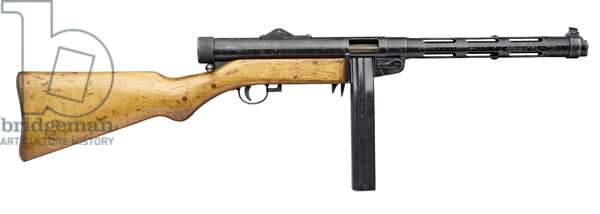 Submachine gun,  (photo)