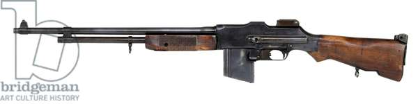 Light Machine Gun (LGM), Squad Automatic Weapon (SAW), c.1939 (photo)