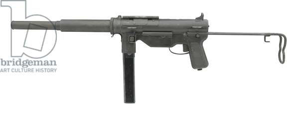 Centrefire automatic silenced submachine gun, 1944 (photo)