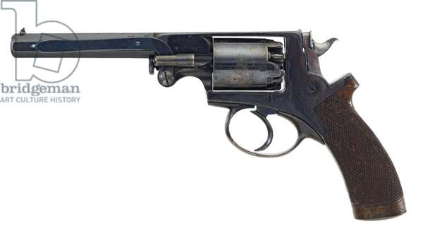 Percussion five shot revolver, c.1865 (photo)