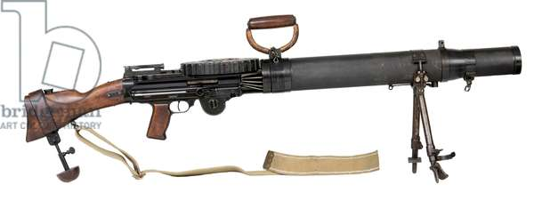Centrefire automatic light machine gun, 1915 (photo)