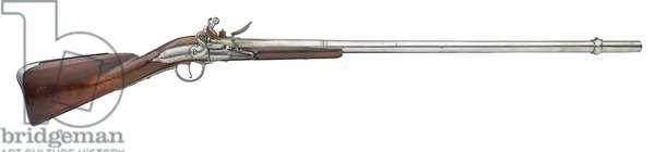 Flintlock breech-loading rifle by Fvlick Sarvm, c.1690 (wood & metal)