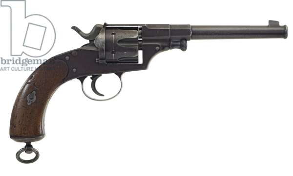 Centrefire six shot revolver, c.1880 (photo)