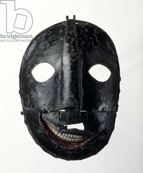 Mask, 17th - 18th century (iron)