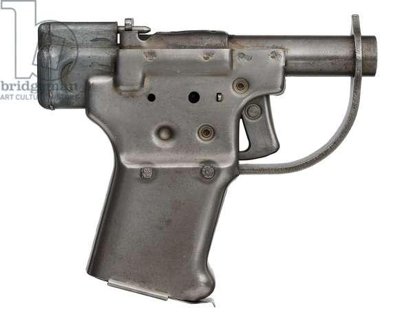 Centrefire single shot breech loading pistol, 1942 (photo)