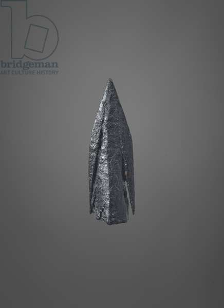 Arrow head, 11th to 15th centuries (metal)