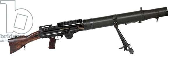 Centrefire automatic light machine gun, c.1916 (photo)