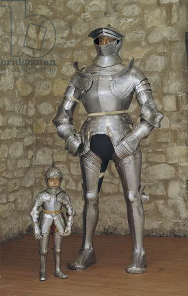 Armour known as the 'Giant' armour, Brunswick, c.1540 (metal)