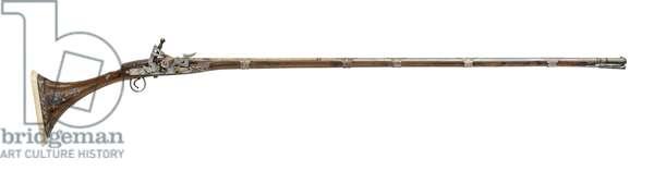 Snaphaunce sporting gun (mukhala), 1801 (photo)