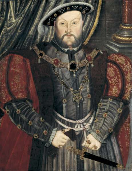 Portrait of Henry VIII, late 16th century (oil on panel)