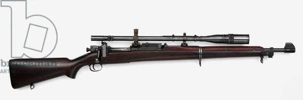 Model 1903A1 Springfield Sniper Rifle with Unertl scope (wood & metal)