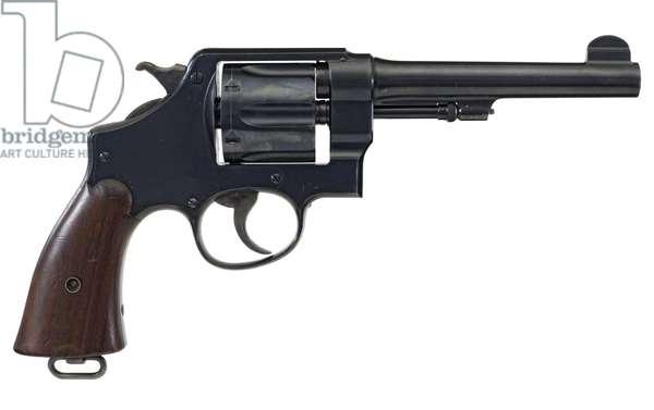 Six shot military revolver, 1900 (photo)
