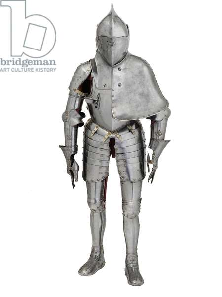 Tilt armour for the Plankengestech, Augsburg, c.1590 (metal)