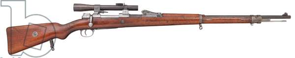 Centrefire bolt action rifle, c.1915 (photo)