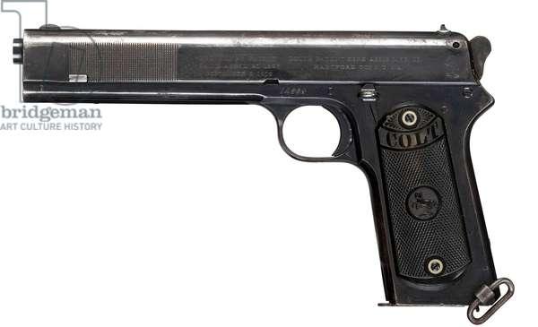 Pistol, c.1907 (photo)