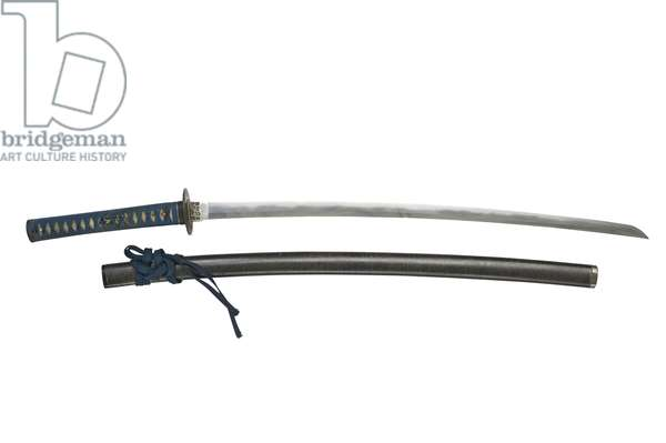 Sword (katana), attributed to the Shizu group (wood & metal)