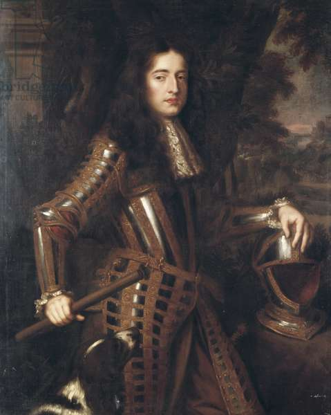 Portrait of William III as Prince of Orange, mid 17th century (oil on canvas)