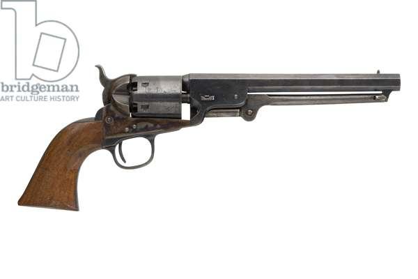 Percussion six shot revolver, 1861 (photo)