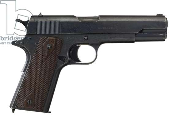 Centrefire self loading pistol, 1918 (photo)