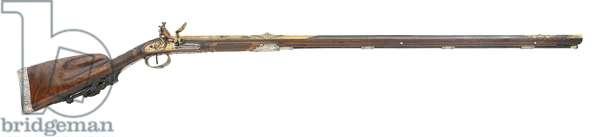 Flintlock gun by Nicholas Noel Boutet, c.1802 (wood & metal)