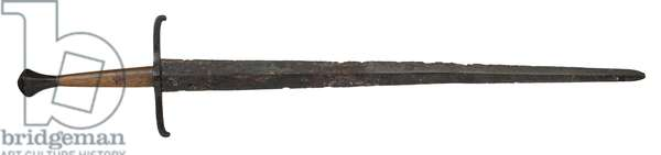 Hand-and-a-half sword, 15th century (metal)