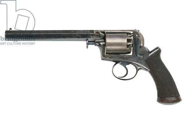Percussion five shot revolver, c.1852 (photo)