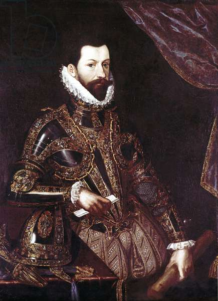 Portrait of Alessandro Farnese, c.1580 (oil on canvas)
