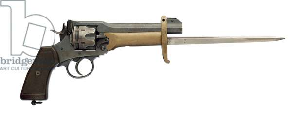 Six shot military revolver, 1917 (photo)
