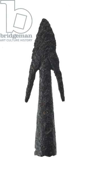 Arrow head, 11th to 15th centuries (metal)
