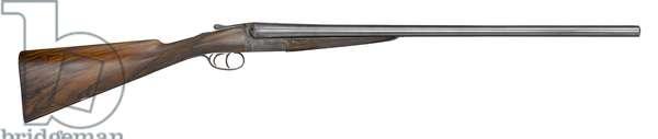 Cased centrefire breech-loading double-barrelled shotgun, 1985 (photo)