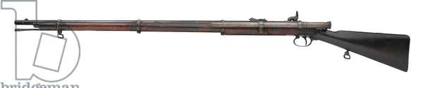 Percussion muzzle-loading rifle, 1858 (photo)