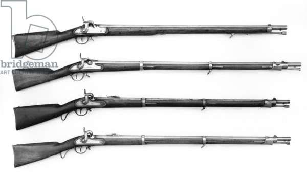Percussion muzzle-loading rifle,  model 1859, 1859