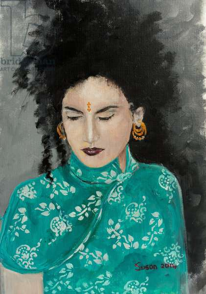 Ranee (acrylic on canvas) 2014
