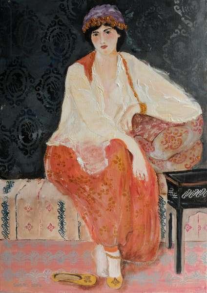 Turkish Beauty (after Lenoir) 2014 (acrylic on canvas)