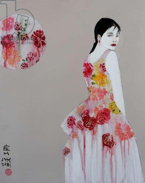 Chinese Fashion 1, 2016, (acrylic on canvas)