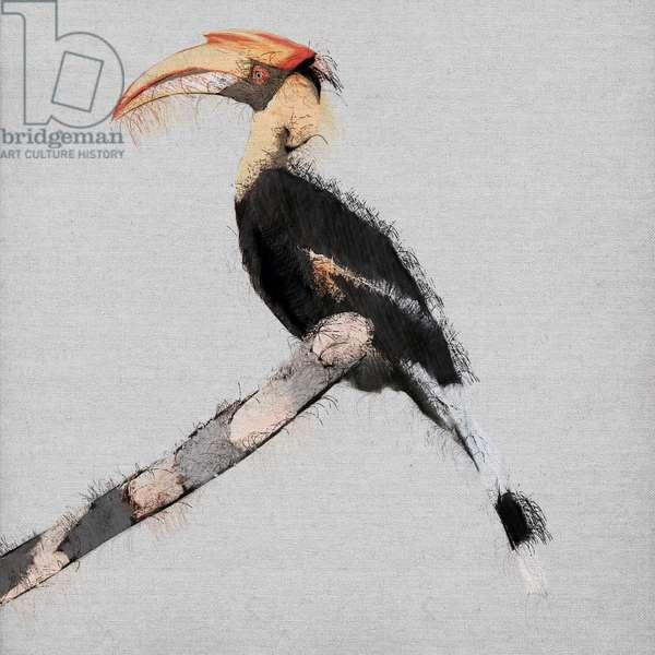 Birdy Birdy, 2019, (mixed media)