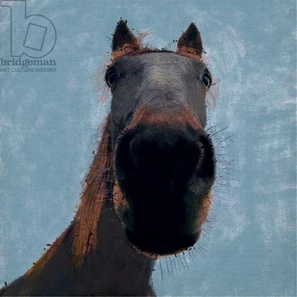 Sussex Horse, 2019, (Mixed Media)