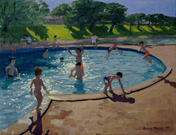 Swimming Pool, 1999 (oil on canvas)