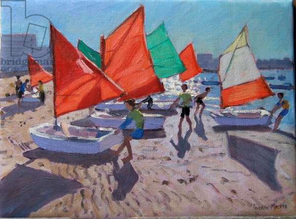 Red Sails, Royan, France (oil on canvas)