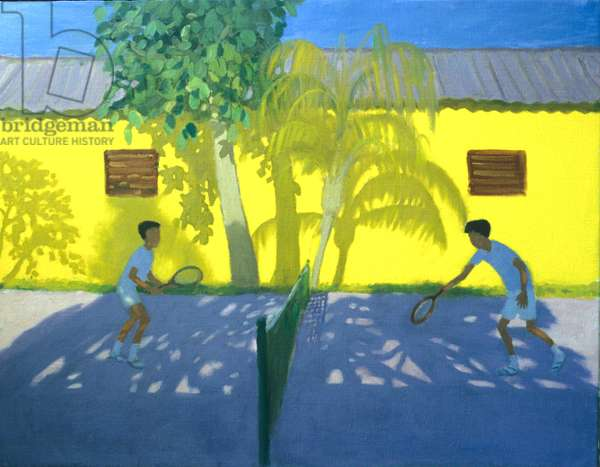 Tennis Cuba, 1998 (oil on canvas)