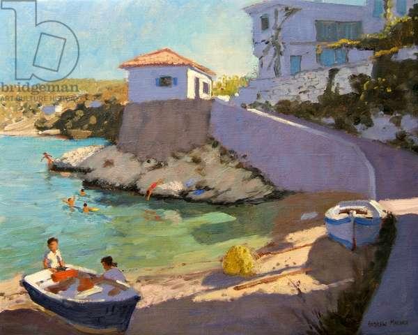 Fishing Nets, Samos, 2005 (oil on canvas)