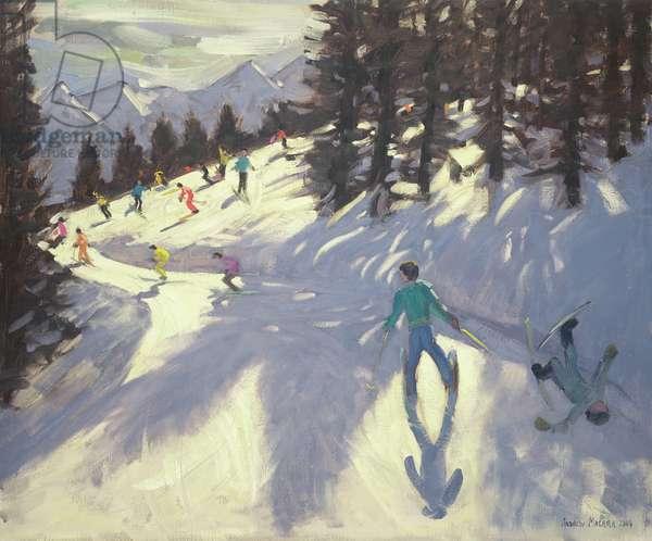 Austrian Alps, 2004 (oil on canvas)