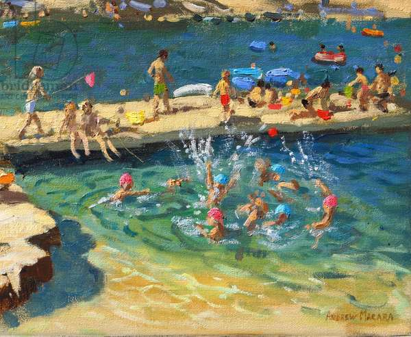 The Jetty,Rovinj,Croatia. 2016/17.(oil on canvas)