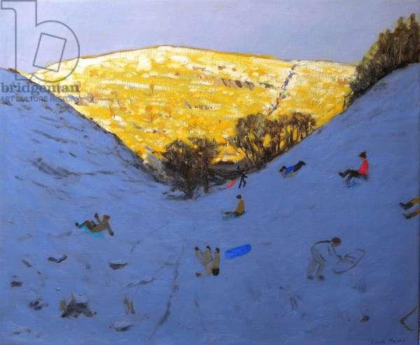 Sun and Snow, 2007 (oil on canvas)