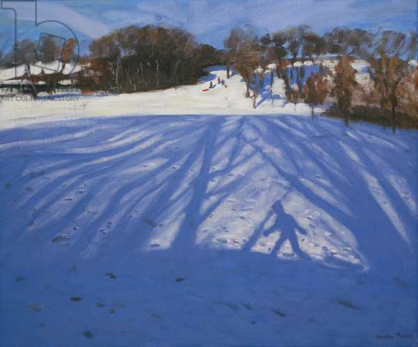 Shadow of Sledger, 2008 (oil on canvas)