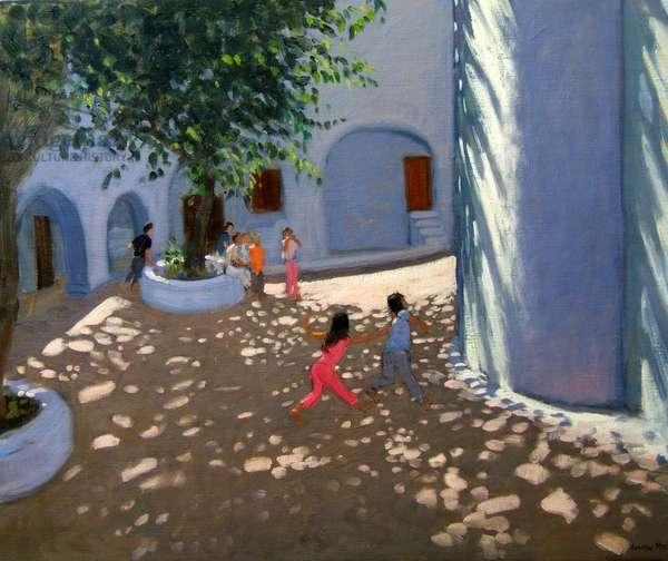 Mykonos monastery (oil on canvas)