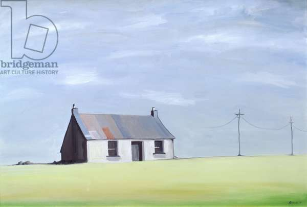 This Old House (oil on canvas)