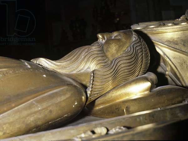 Tomb effigy of Edward III (gilt bronze)